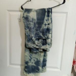 Axel men tye and dye jeans 36 x 32